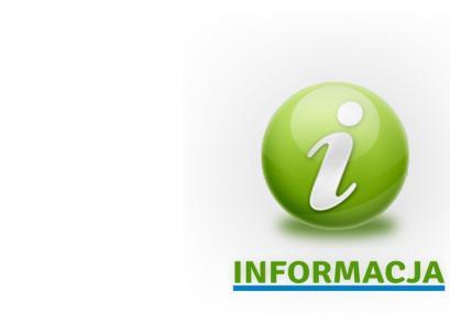 """grafika przedstawia literę """"I"""" i napis """"informacja"""""""