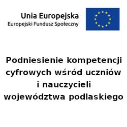 Baner z flagą UE i nazwą projektu