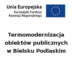 Logo termomodernizacja obiektów