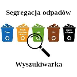 Segregacja odpadów - wyszukiwarka